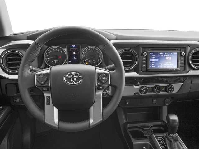 2017 Toyota Tacoma Prices and Values SR5 Crew Cab 4WD V6 driver's dashboard