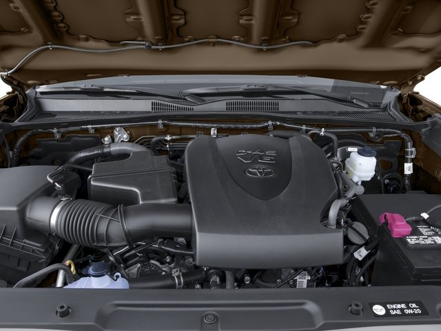 2017 Toyota Tacoma Prices and Values SR5 Crew Cab 4WD V6 engine