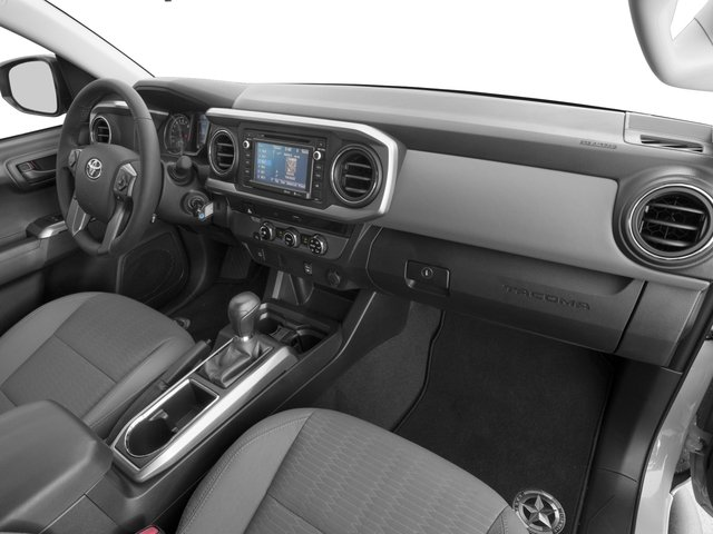 2017 Toyota Tacoma Prices and Values SR5 Crew Cab 4WD V6 passenger's dashboard
