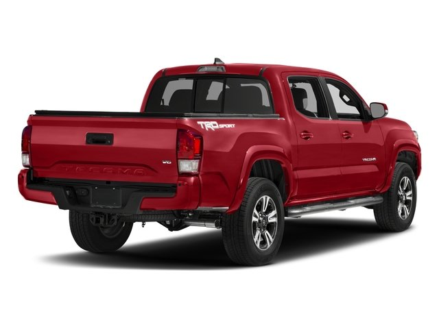 2017 Toyota Tacoma Prices and Values TRD Sport Crew Cab 4WD V6 side rear view