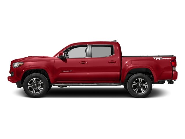 2017 Toyota Tacoma Prices and Values TRD Sport Crew Cab 4WD V6 side view