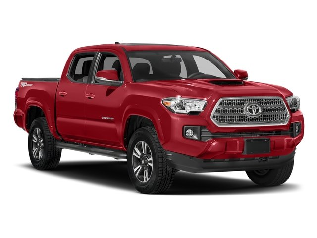 2017 Toyota Tacoma Prices and Values TRD Sport Crew Cab 4WD V6 side front view