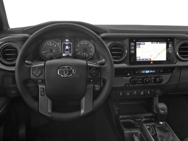 2017 Toyota Tacoma Prices and Values TRD Sport Crew Cab 4WD V6 driver's dashboard