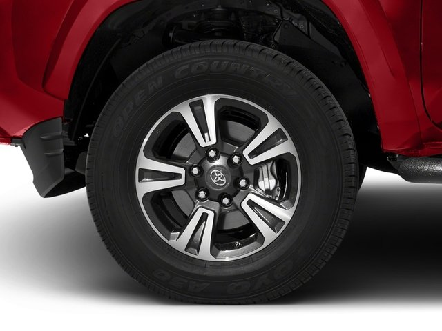 2017 Toyota Tacoma Prices and Values TRD Sport Crew Cab 4WD V6 wheel