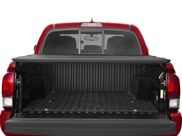 2017 Toyota Tacoma Prices and Values TRD Sport Crew Cab 4WD V6 open trunk