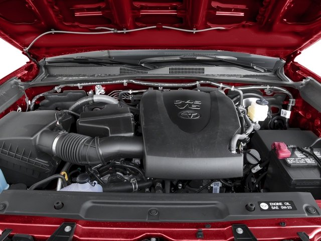 2017 Toyota Tacoma Prices and Values TRD Sport Crew Cab 4WD V6 engine