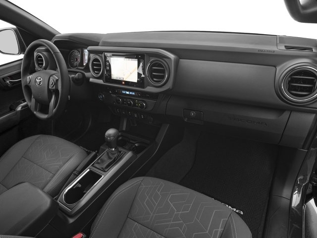 2017 Toyota Tacoma Prices and Values TRD Sport Crew Cab 4WD V6 passenger's dashboard