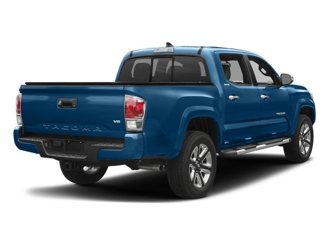 2017 Toyota Tacoma Prices and Values Limited Crew Cab 4WD V6 side rear view
