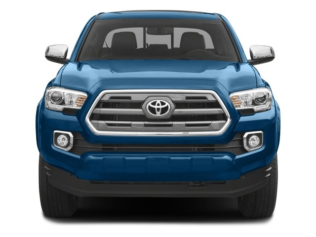2017 Toyota Tacoma Prices and Values Limited Crew Cab 4WD V6 front view