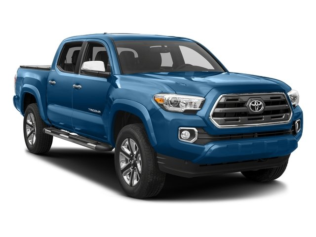 2017 Toyota Tacoma Prices and Values Limited Crew Cab 4WD V6 side front view