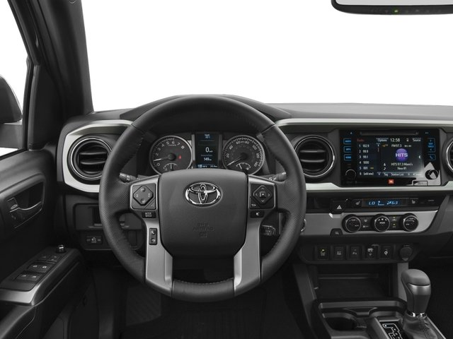2017 Toyota Tacoma Prices and Values Limited Crew Cab 4WD V6 driver's dashboard