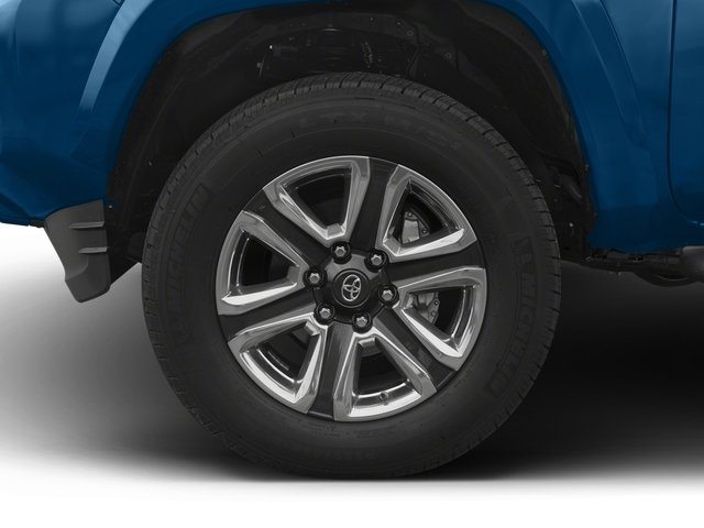 2017 Toyota Tacoma Prices and Values Limited Crew Cab 4WD V6 wheel