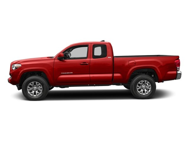 2017 Toyota Tacoma Pictures Tacoma SR5 Extended Cab 2WD V6 photos side view