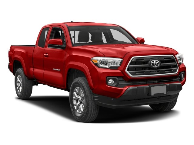 2017 Toyota Tacoma Prices and Values SR5 Extended Cab 4WD V6 side front view