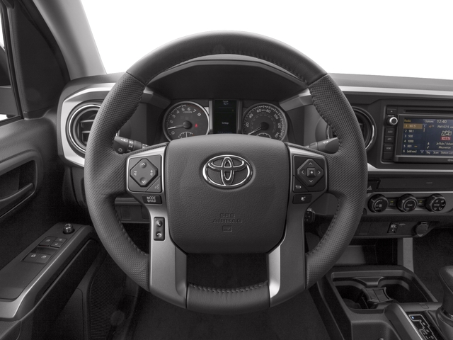 2017 Toyota Tacoma Prices and Values SR5 Extended Cab 4WD V6 driver's dashboard