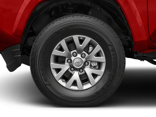 2017 Toyota Tacoma Prices and Values SR5 Extended Cab 4WD V6 wheel