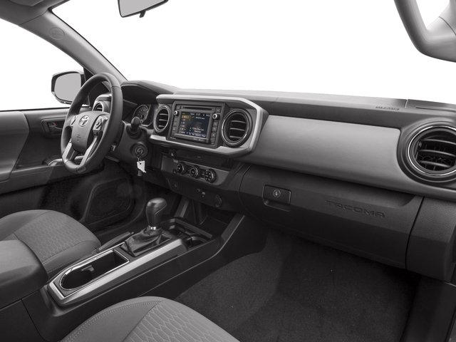 2017 Toyota Tacoma Prices and Values SR5 Extended Cab 4WD V6 passenger's dashboard