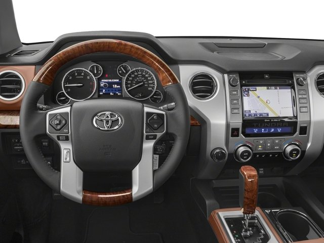 2017 Toyota Tundra 2WD Pictures Tundra 2WD 1794 Edition CrewMax 2WD photos driver's dashboard