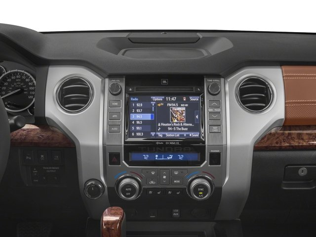 2017 Toyota Tundra 2WD Pictures Tundra 2WD 1794 Edition CrewMax 2WD photos stereo system