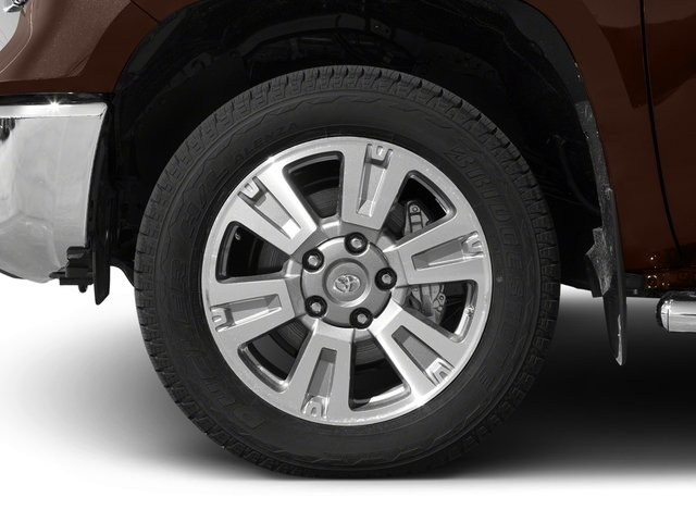 2017 Toyota Tundra 2WD Pictures Tundra 2WD 1794 Edition CrewMax 2WD photos wheel