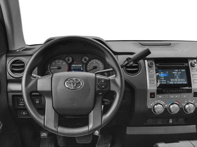 2017 Toyota Tundra 4WD Prices and Values SR Double Cab 4WD driver's dashboard