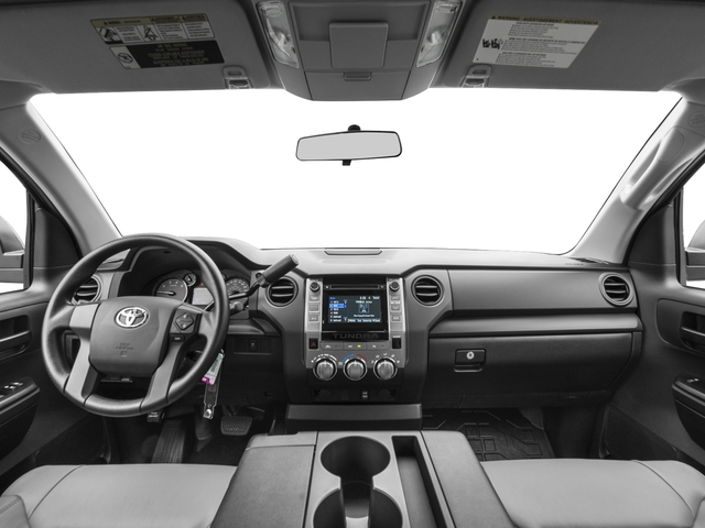 2017 Toyota Tundra 4WD Prices and Values SR Double Cab 4WD full dashboard