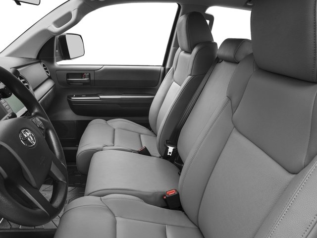 2017 Toyota Tundra 4WD Prices and Values SR Double Cab 4WD front seat interior