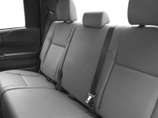 2017 Toyota Tundra 4WD Prices and Values SR Double Cab 4WD backseat interior