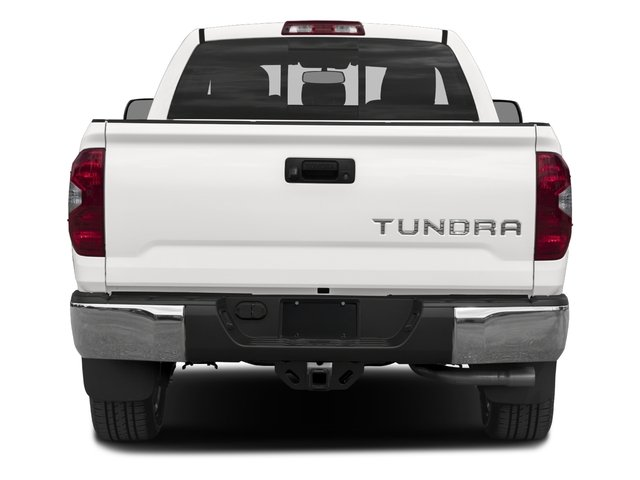 2017 Toyota Tundra 2WD Pictures Tundra 2WD Limited Double Cab 2WD photos rear view