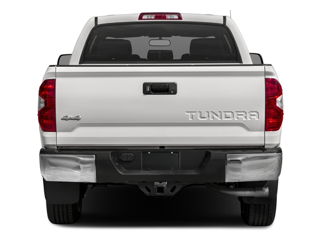 2017 Toyota Tundra 4WD Prices and Values SR5 CrewMax 4WD rear view