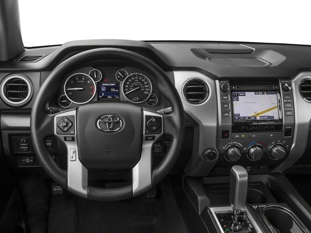 2017 Toyota Tundra 4WD Prices and Values SR5 CrewMax 4WD driver's dashboard
