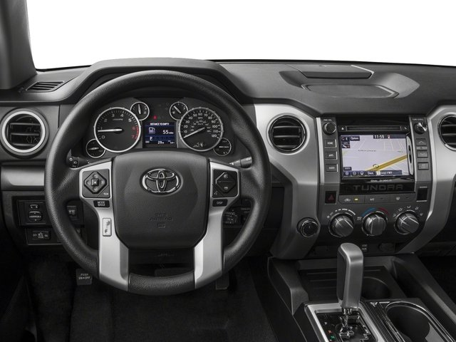2017 Toyota Tundra 4WD Pictures Tundra 4WD SR5 CrewMax 4WD photos driver's dashboard
