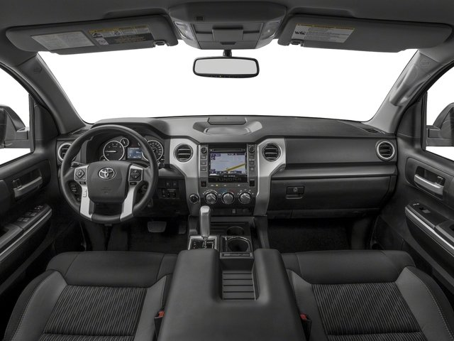 2017 Toyota Tundra 4WD Prices and Values SR5 CrewMax 4WD full dashboard
