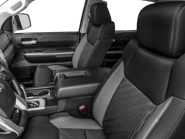 2017 Toyota Tundra 4WD Prices and Values SR5 CrewMax 4WD front seat interior