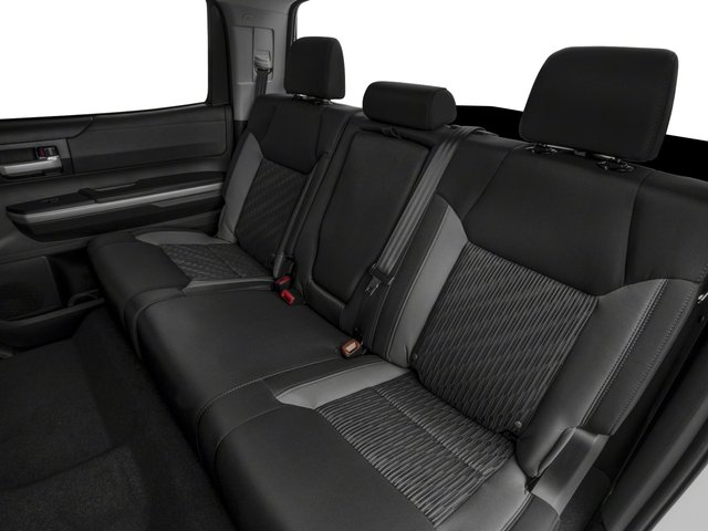 2017 Toyota Tundra 4WD Prices and Values SR5 CrewMax 4WD backseat interior