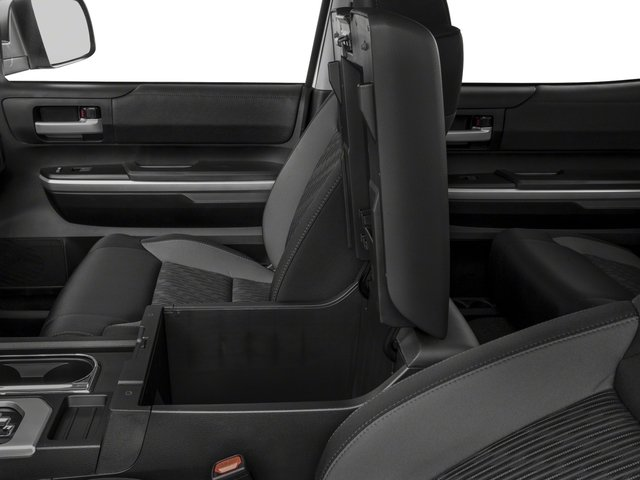 2017 Toyota Tundra 4WD Prices and Values SR5 CrewMax 4WD center storage console