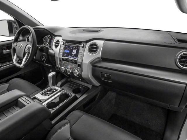 2017 Toyota Tundra 4WD Prices and Values SR5 CrewMax 4WD passenger's dashboard
