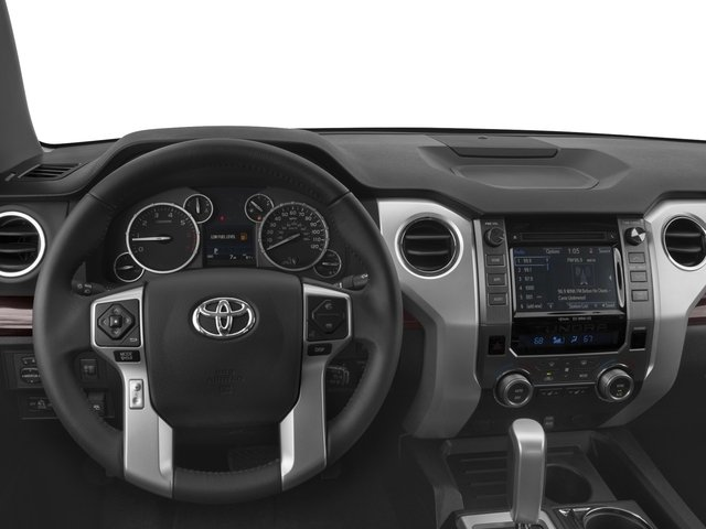 2017 Toyota Tundra 4WD Prices and Values Limited CrewMax 4WD driver's dashboard