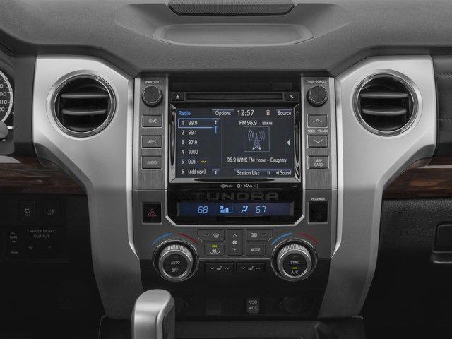 2017 Toyota Tundra 4WD Prices and Values Limited CrewMax 4WD stereo system