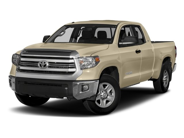 2017 Toyota Tundra 2WD Pictures Tundra 2WD SR5 Double Cab 2WD photos side front view