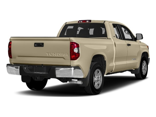 2017 Toyota Tundra 2WD Pictures Tundra 2WD SR5 Double Cab 2WD photos side rear view