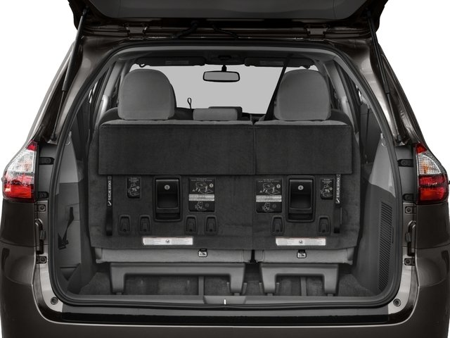 2017 Toyota Sienna Pictures Sienna Wagon 5D LE AWD V6 photos open trunk
