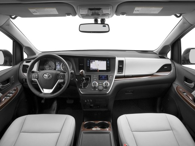 2017 Toyota Sienna Pictures Sienna Wagon 5D XLE V6 photos full dashboard