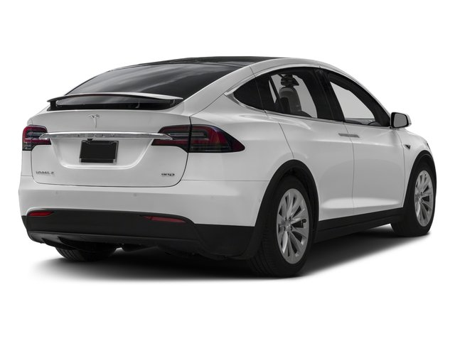 2017 Tesla Motors Model X Prices and Values Util 4D Performance 100 kWh AWD Elec side rear view