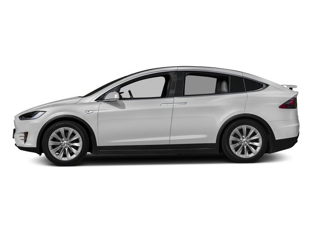 2017 Tesla Motors Model X Prices and Values Util 4D Performance 100 kWh AWD Elec side view