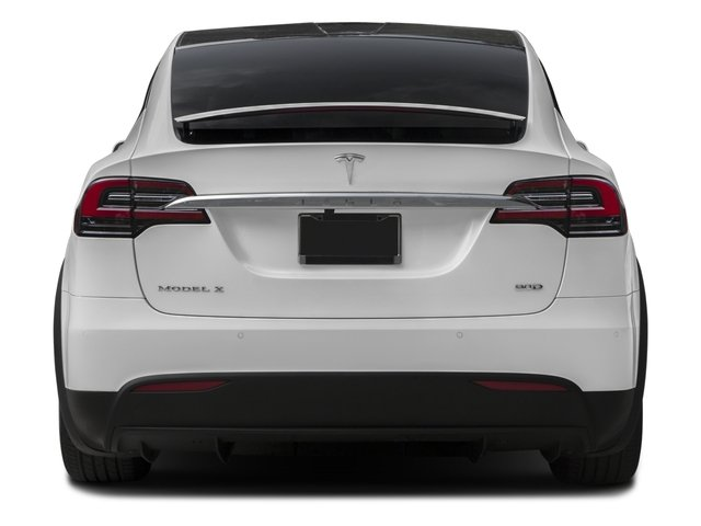 2017 Tesla Motors Model X Prices and Values Util 4D Performance 100 kWh AWD Elec rear view