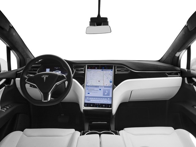 2017 Tesla Motors Model X Pictures Model X Utility 4D 100 kWh AWD Electric photos full dashboard
