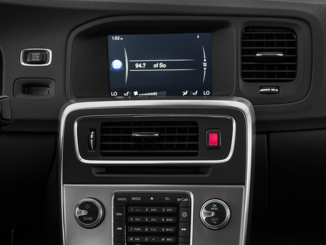 2017 Volvo S60 Base Price T5 AWD Dynamic Pricing stereo system