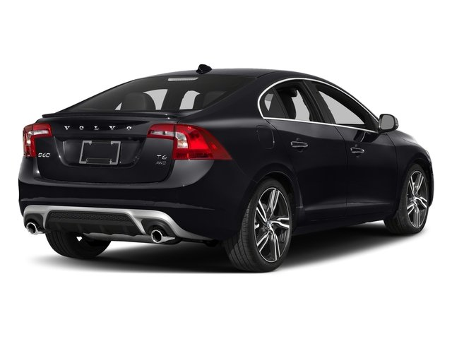 2017 Volvo S60 Prices and Values Sedan 4D Platinum T6 R-Design AWD side rear view