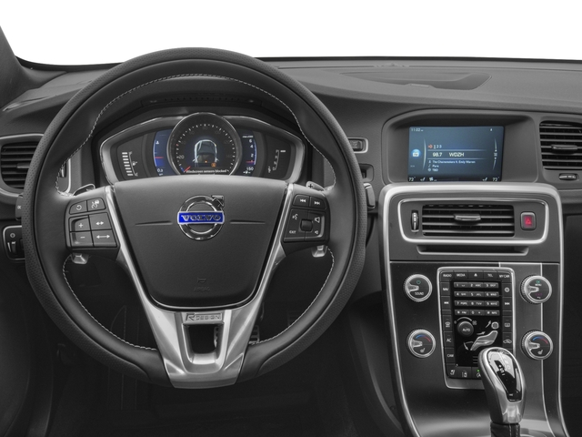 2017 Volvo S60 Prices and Values Sedan 4D Platinum T6 R-Design AWD driver's dashboard